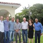 Palestrantes, Moderador, Presidente e Diretor do Núcleo Leste
