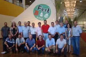 Reunião do Conselho Diretor da SBCS durante a FertBio 2012, em Maceió, AL.