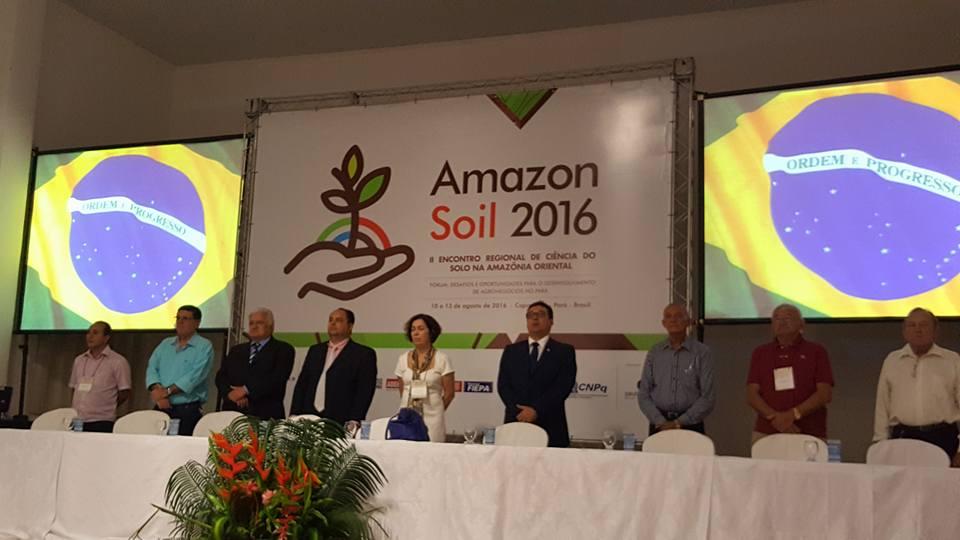 O encontro reuniu 280 pesquisadores e estudantes dos estados do Pará, Tocantins, Amazonas e Maranhão