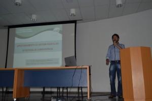 O pesquisador do Incaper e Secretário Geral do Núcleo Leste da SBCS, André Guarçoni