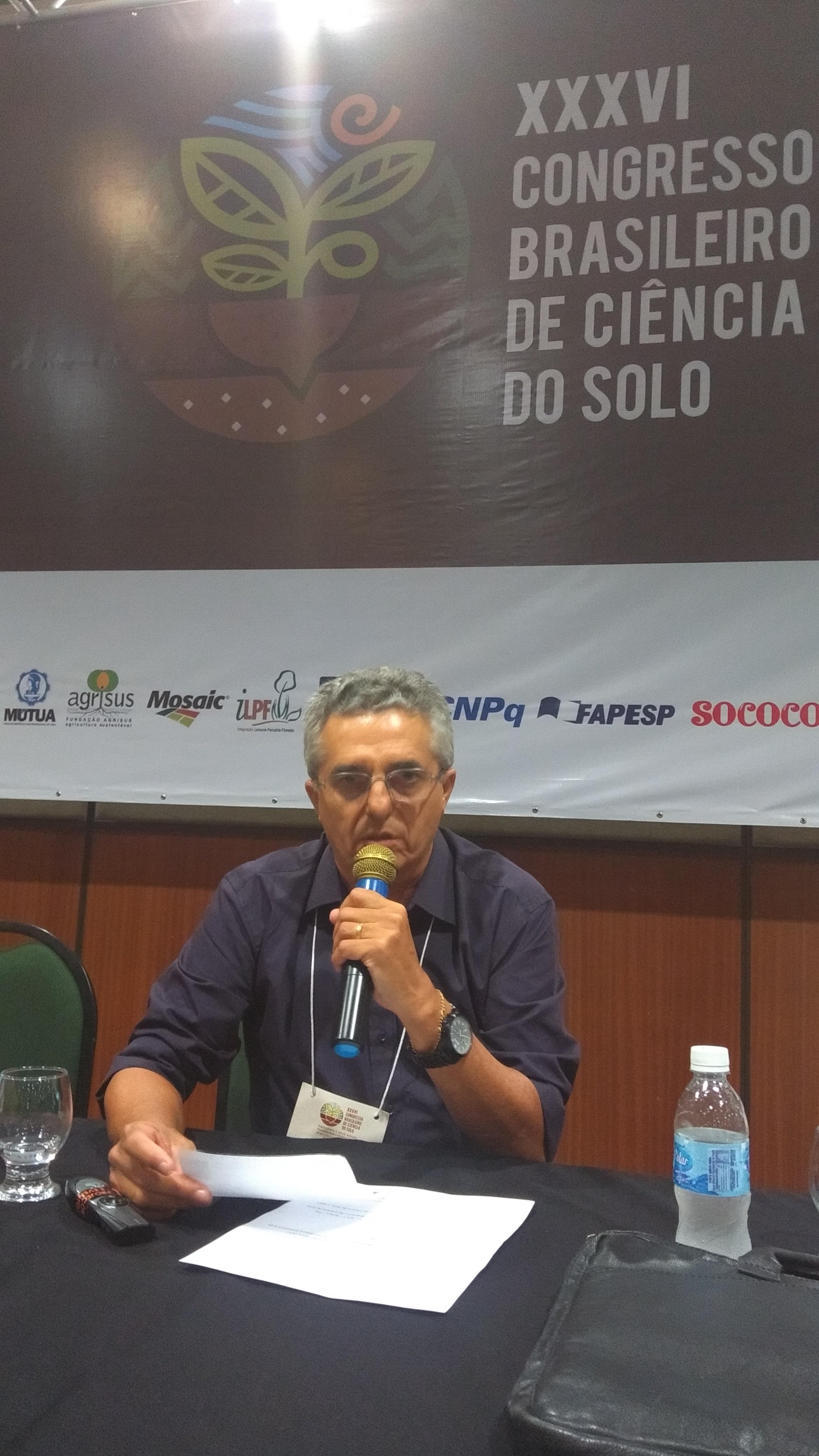 O evento foi presidido pelo professor da UFRPA, Antonio Rodrigues